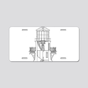 Vintage Cape Hatteras Light Aluminum License Plate