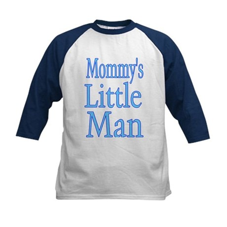 Mommy's Little Man Kids Baseball Jersey
