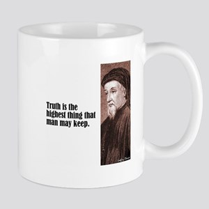 "Chaucer ""Truth"" Mug"