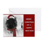 Cairn Terrier Christmas Cards, Greeting Cards (Pk