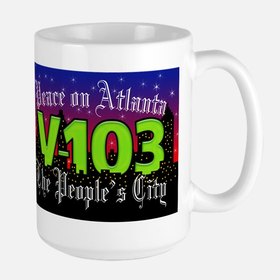 Peace on Atlanta Large Mug