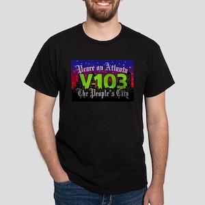 Peace on Atlanta Dark T-Shirt