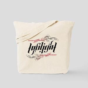 Twilight Forever Ambigram Tote Bag