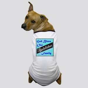 """""""God Bless Our Stude Family"""" Dog T-Shirt"""