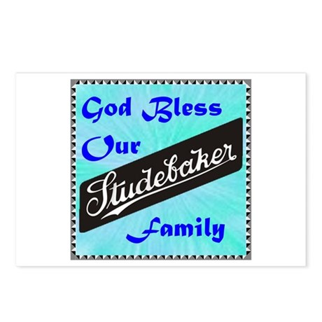 """God Bless Our Stude Family"" Postcards (Package of"