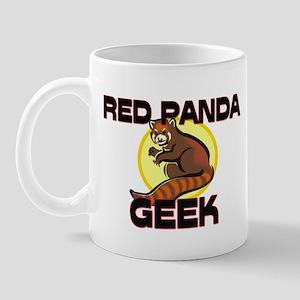 Red Panda Geek Mug