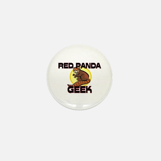 Red-Eyed Tree Frog Geek Mini Button