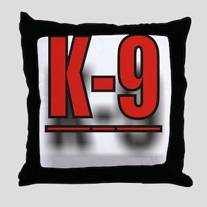 K-9 Throw Pillow