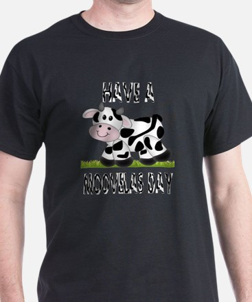 Cute Cow Moovalas day T-Shirt