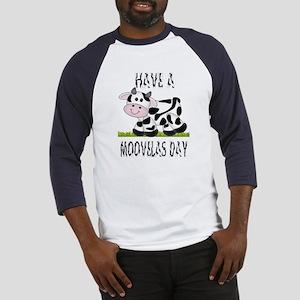 Cute Cow Moovalas day Baseball Jersey
