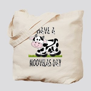 Cute Cow Moovalas day Tote Bag