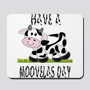 Cute Cow Moovalas day Mousepad