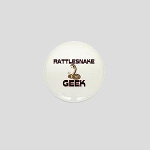Rattlesnake Geek Mini Button