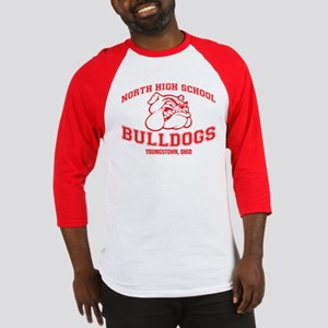 North High School Bulldogs Baseball Jersey