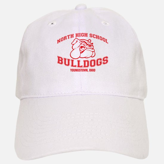 North High School Bulldogs Baseball Baseball Cap