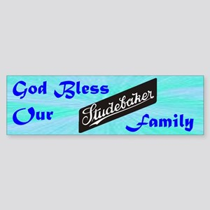 """God Bless Our Stude Family"" Sticker (Bu"