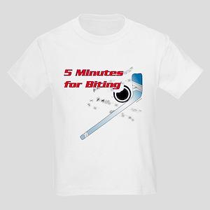 5 minutes for biting Kids Light T-Shirt