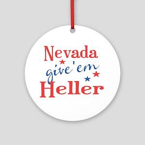 Dean Heller Nevada Round Ornament