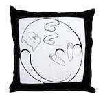 Floppy Cat Throw Pillow