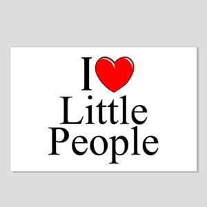 """I Love (Heart) Little People"" Postcards (Package"