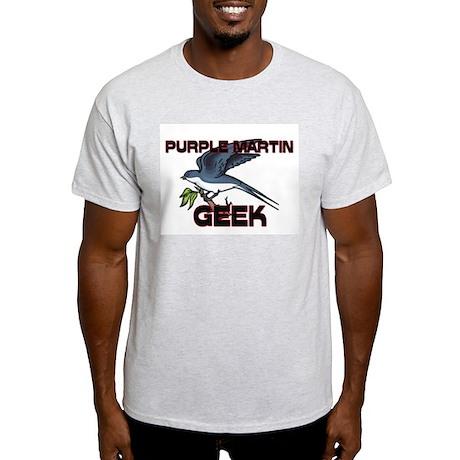 Purple Martin Geek Light T-Shirt