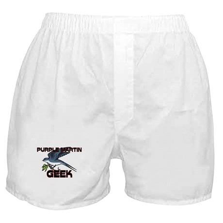 Purple Martin Geek Boxer Shorts