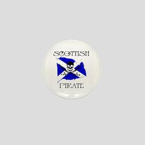 Scottish Pirate Mini Button