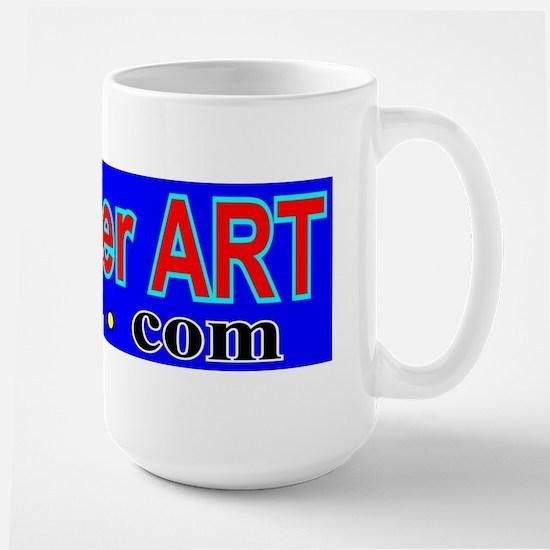 RogerART.com logo  Large Mug