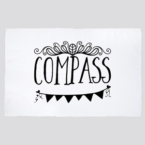 Compass 4' x 6' Rug