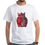 Kitty Love White T-Shirt