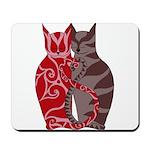 Kitty Love Mousepad