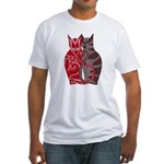 Kitty Love Fitted T-Shirt