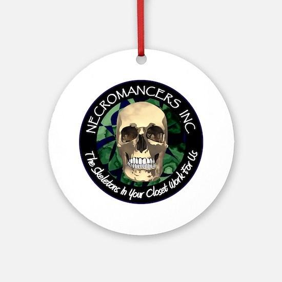 Necromancer's Inc. Ornament (Round)