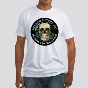 Necromancer's Inc. Fitted T-Shirt