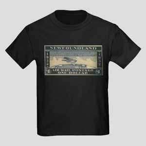 Newfoundland $1 airmail Kids Dark T-Shirt