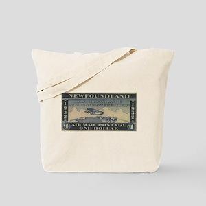 Newfoundland $1 airmail Tote Bag