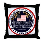 Coast Guard Boyfriend Throw Pillow