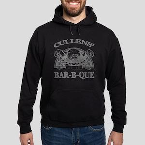 Cullen Family Name Vintage Barbeque Hoodie (dark)