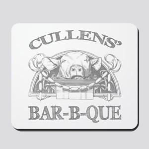Cullen Family Name Vintage Barbeque Mousepad