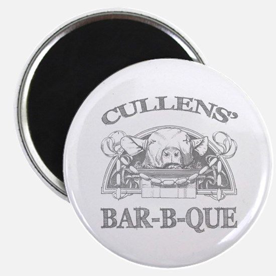"Cullen Family Name Vintage Barbeque 2.25"" Magnet ("
