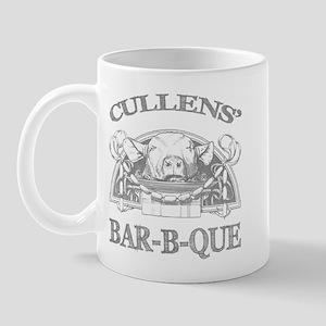Cullen Family Name Vintage Barbeque Mug