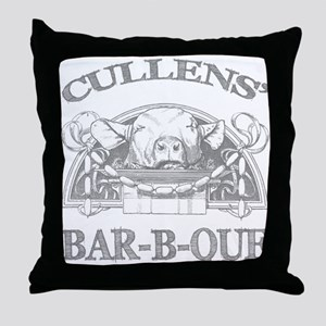 Cullen Family Name Vintage Barbeque Throw Pillow