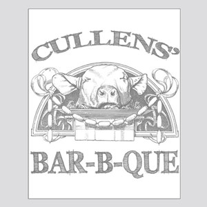 Cullen Family Name Vintage Barbeque Small Poster