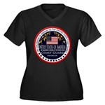 Coast Guard Girlfriend Women's Plus Size V-Neck Da
