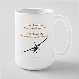 Good Landing/Great Landing Large Mug