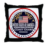 Coast Guard Daughter Throw Pillow