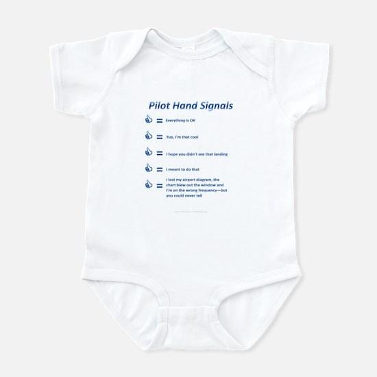Hand Signals Infant Bodysuit