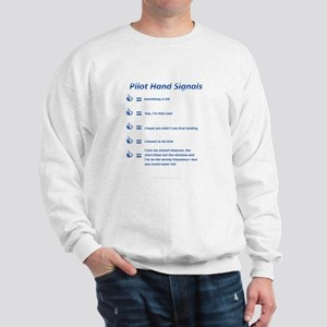 Hand Signals Sweatshirt