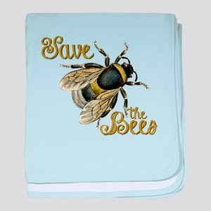 Save Bees baby blanket