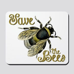 Save Bees Mousepad